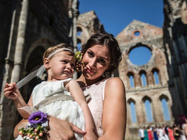 Il matrimonio di Luca e Gloria a Chiusdino, Siena 15