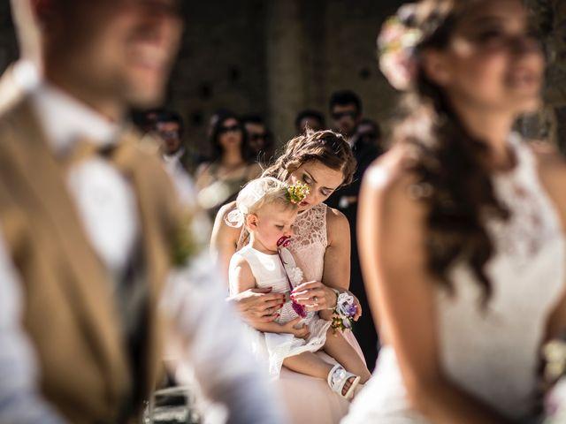 Il matrimonio di Luca e Gloria a Chiusdino, Siena 24