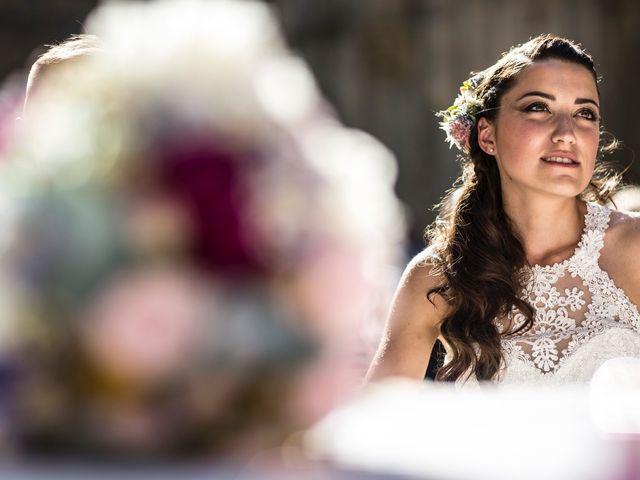 Il matrimonio di Luca e Gloria a Chiusdino, Siena 34