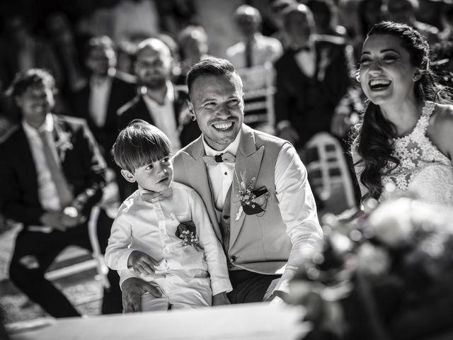 Il matrimonio di Luca e Gloria a Chiusdino, Siena 35