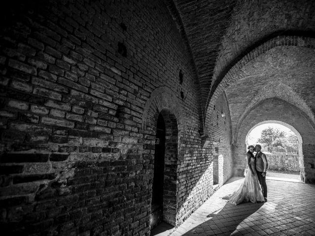 Il matrimonio di Luca e Gloria a Chiusdino, Siena 44