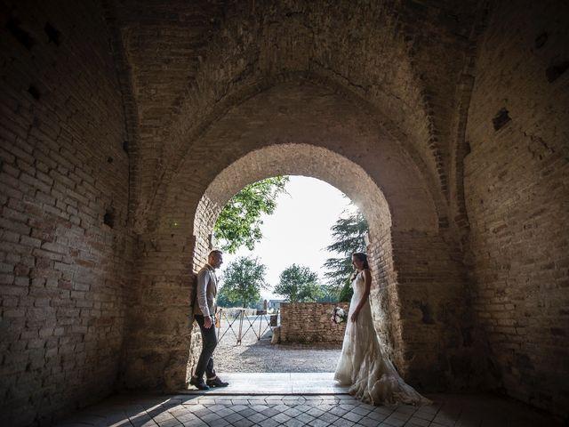 Il matrimonio di Luca e Gloria a Chiusdino, Siena 45