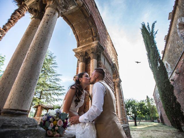 Il matrimonio di Luca e Gloria a Chiusdino, Siena 46