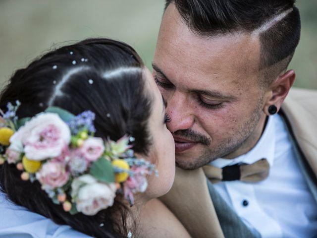 Il matrimonio di Luca e Gloria a Chiusdino, Siena 47
