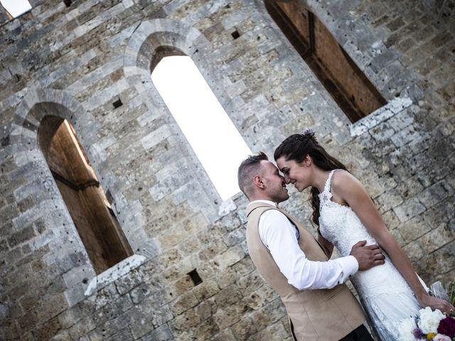 Il matrimonio di Luca e Gloria a Chiusdino, Siena 49
