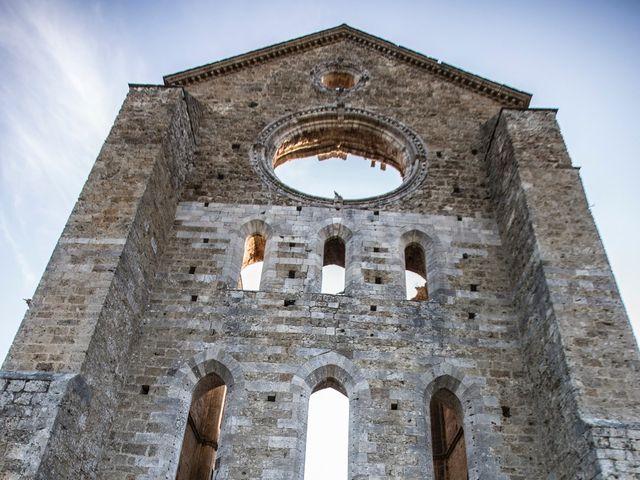Il matrimonio di Luca e Gloria a Chiusdino, Siena 50