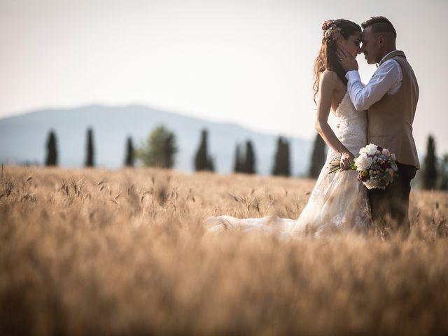 Il matrimonio di Luca e Gloria a Chiusdino, Siena 54