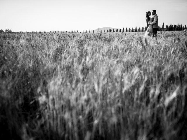 Il matrimonio di Luca e Gloria a Chiusdino, Siena 55