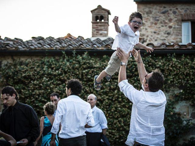 Il matrimonio di Luca e Gloria a Chiusdino, Siena 56