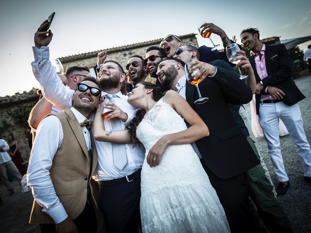 Il matrimonio di Luca e Gloria a Chiusdino, Siena 57