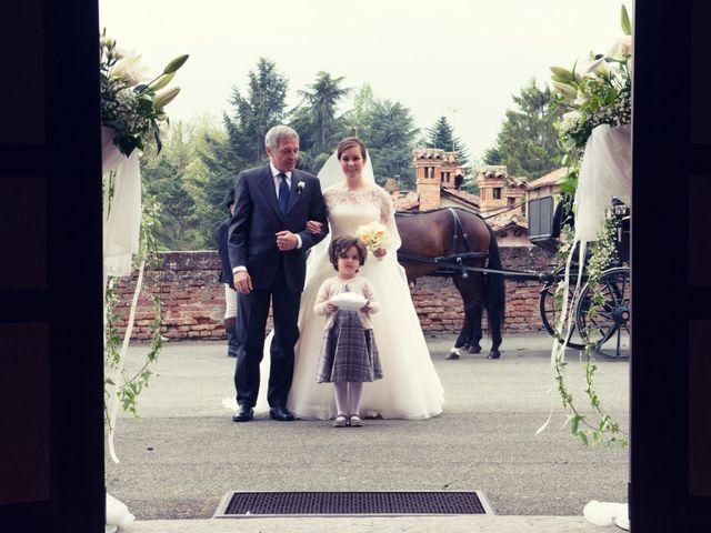 Il matrimonio di Christian e Ginevra a Oviglio, Alessandria 34