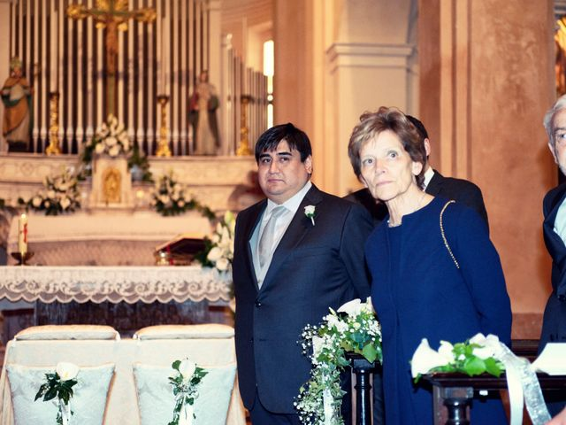 Il matrimonio di Christian e Ginevra a Oviglio, Alessandria 36