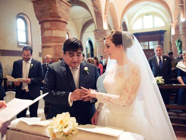 Il matrimonio di Christian e Ginevra a Oviglio, Alessandria 41