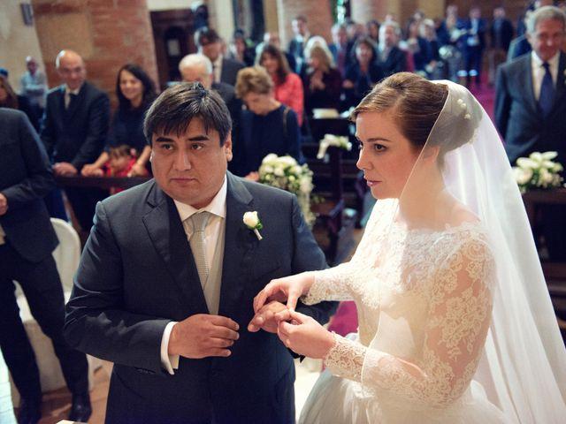 Il matrimonio di Christian e Ginevra a Oviglio, Alessandria 43