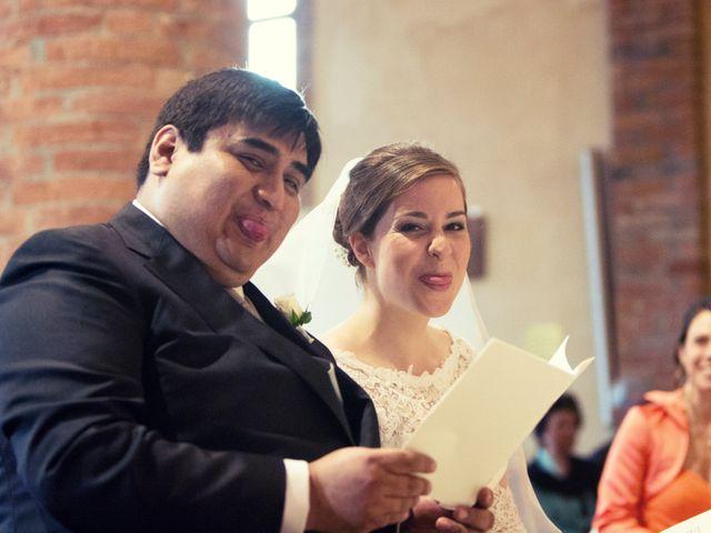 Il matrimonio di Christian e Ginevra a Oviglio, Alessandria 44