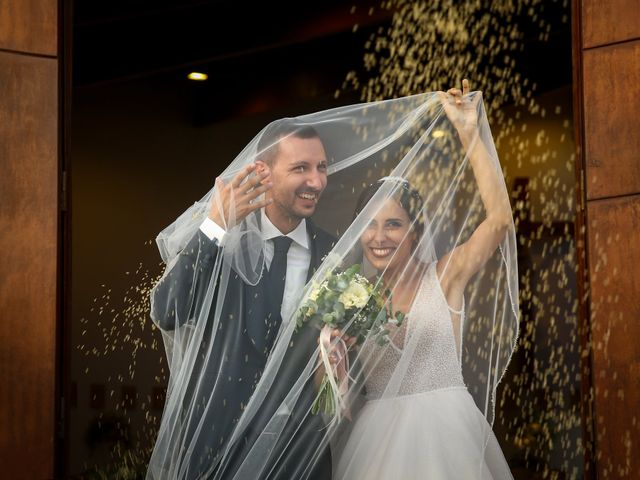Le nozze di Cinzia e Francesco