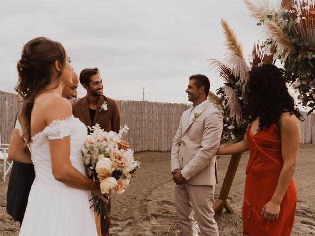 Il matrimonio di Leon e Carolina a Maccarese, Roma 39