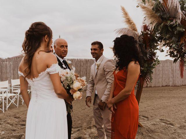 Il matrimonio di Leon e Carolina a Maccarese, Roma 41
