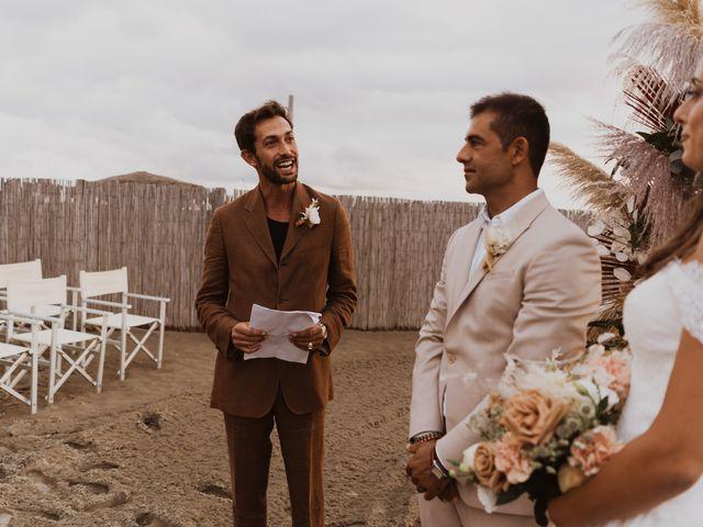 Il matrimonio di Leon e Carolina a Maccarese, Roma 45