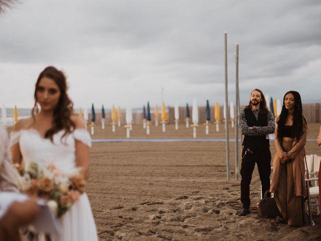 Il matrimonio di Leon e Carolina a Maccarese, Roma 49