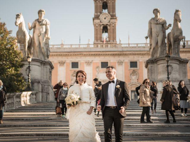 Il matrimonio di Stefano e Nouzha a Roma, Roma 39