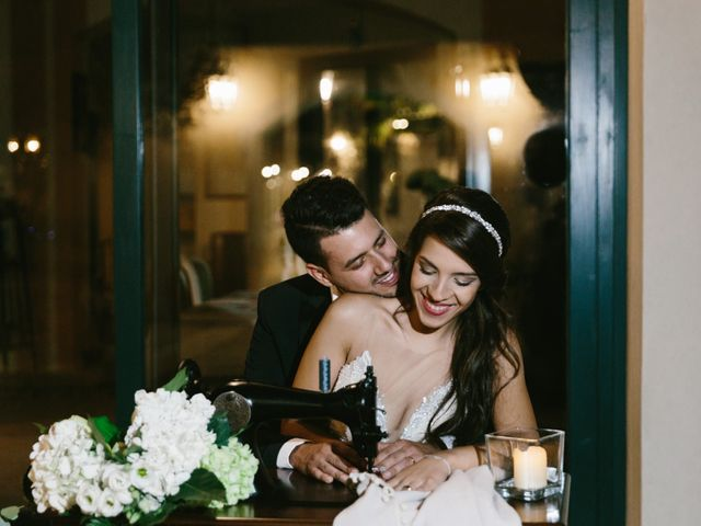 le nozze di Ilenia e Fabio