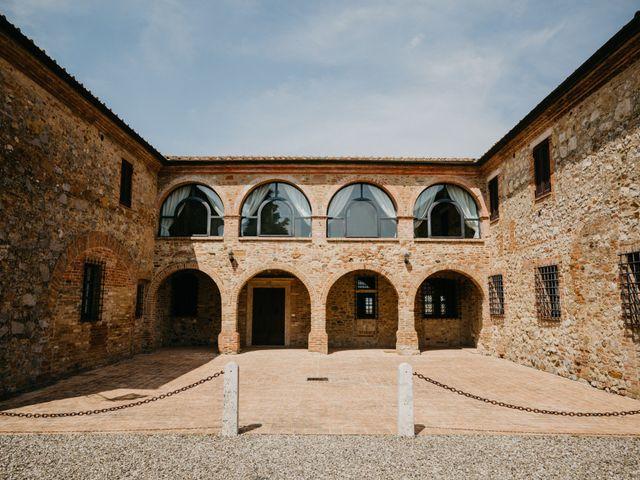 Il matrimonio di Emanuele e Mariane a Trequanda, Siena 5