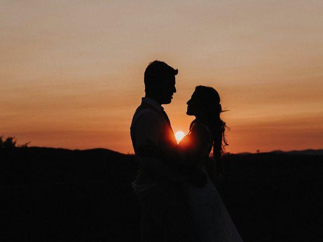 Il matrimonio di Emanuele e Mariane a Trequanda, Siena 2