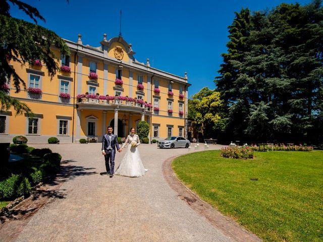 Il matrimonio di Angelo e Michela a Bergamo, Bergamo 41