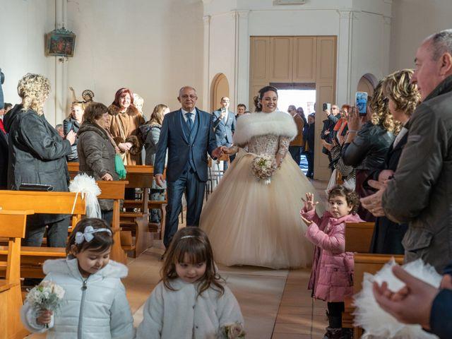 Il matrimonio di Fabio e Lucia a Petritoli, Fermo 34