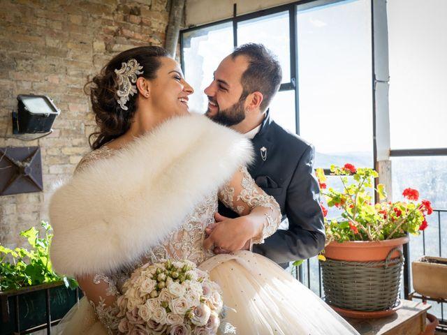 Il matrimonio di Fabio e Lucia a Petritoli, Fermo 44