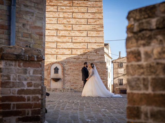 Il matrimonio di Fabio e Lucia a Petritoli, Fermo 49