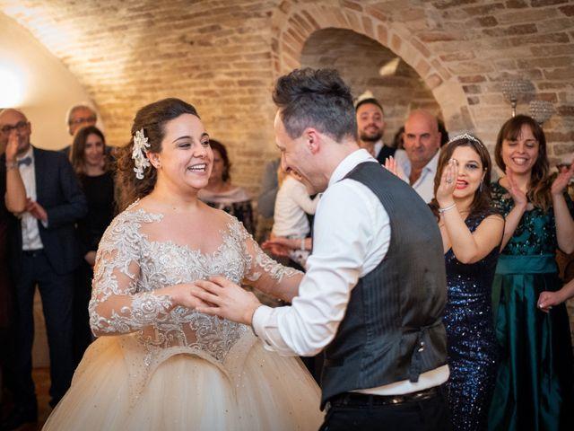 Il matrimonio di Fabio e Lucia a Petritoli, Fermo 56