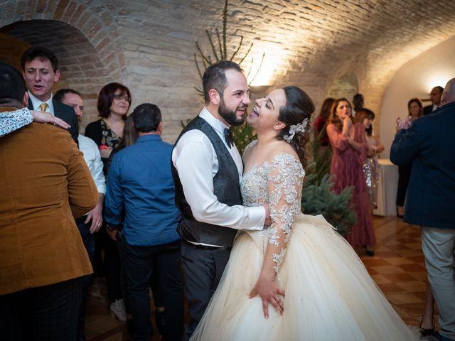 Il matrimonio di Fabio e Lucia a Petritoli, Fermo 58