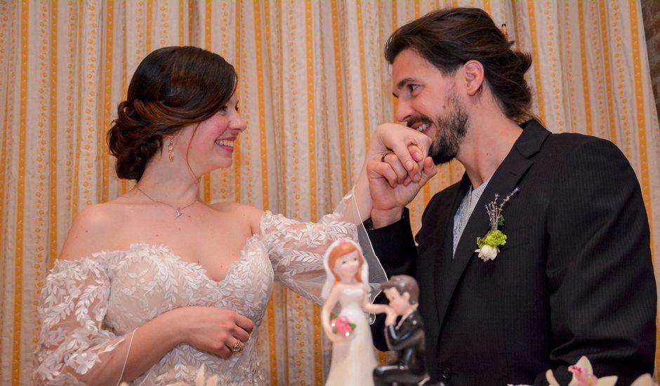 Il matrimonio di Fabrizia e Giampaolo a Rovolon, Padova