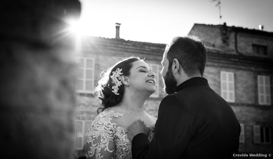 Il matrimonio di Fabio e Lucia a Petritoli, Fermo