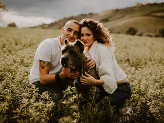 Le nozze di Erica e Manuel