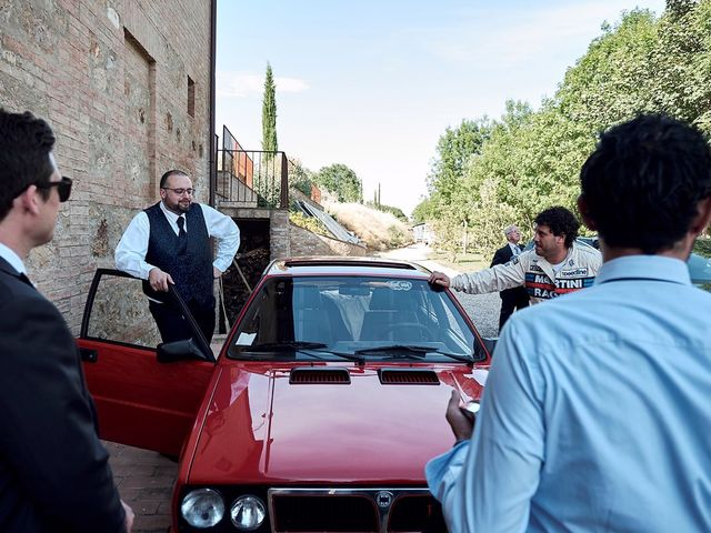 Il matrimonio di Alessio e Sara a Chiusdino, Siena 7