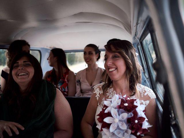 Il matrimonio di Alessio e Sara a Chiusdino, Siena 9