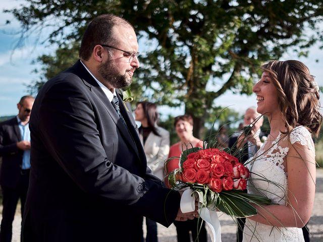 Il matrimonio di Alessio e Sara a Chiusdino, Siena 11