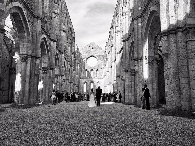 Il matrimonio di Alessio e Sara a Chiusdino, Siena 16