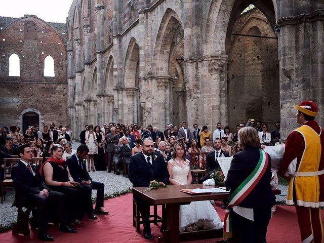 Il matrimonio di Alessio e Sara a Chiusdino, Siena 17