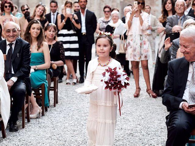 Il matrimonio di Alessio e Sara a Chiusdino, Siena 19