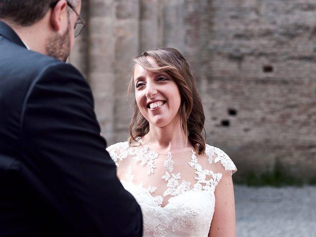 Il matrimonio di Alessio e Sara a Chiusdino, Siena 20