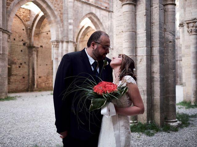 Il matrimonio di Alessio e Sara a Chiusdino, Siena 24