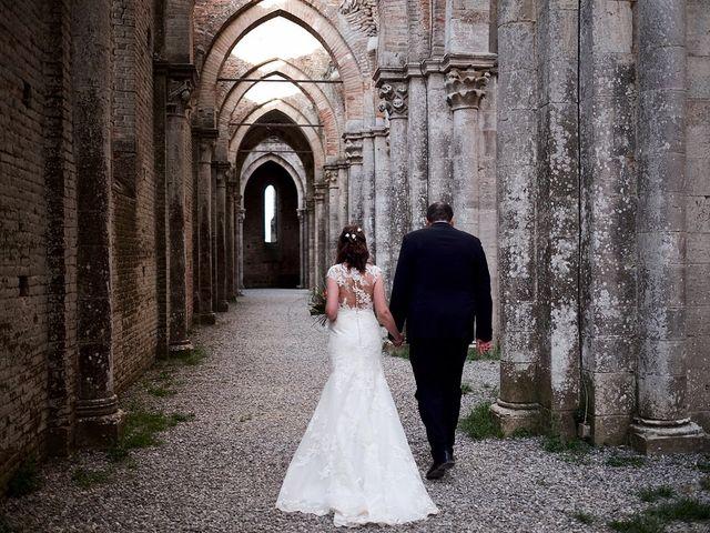 Il matrimonio di Alessio e Sara a Chiusdino, Siena 25