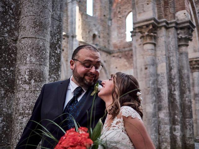 Il matrimonio di Alessio e Sara a Chiusdino, Siena 26