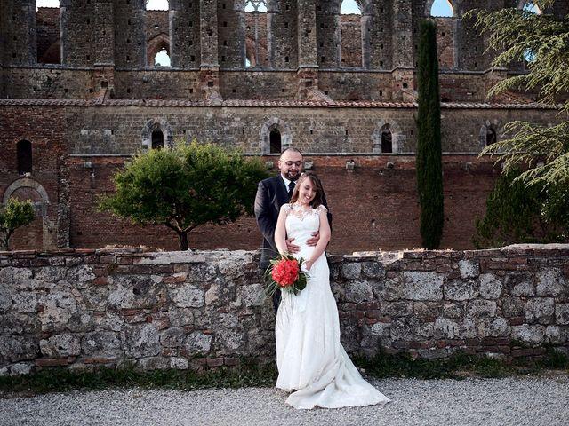 Il matrimonio di Alessio e Sara a Chiusdino, Siena 30