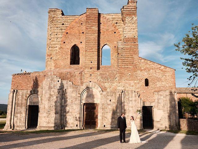 Il matrimonio di Alessio e Sara a Chiusdino, Siena 33