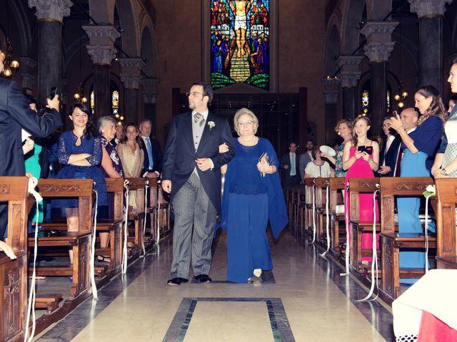 Il matrimonio di Filippo e Gloria a Milano, Milano 33